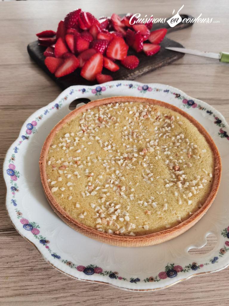 tarte-aux-fraises-7-768x1024 - Tarte aux fraises et aux amandes
