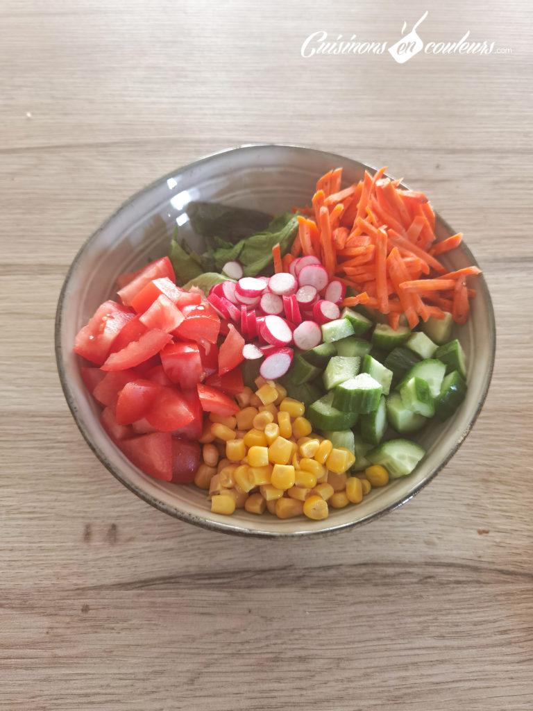 Salade-composee-3-768x1024 - Salade composée, appelée aussi Salad Bowl