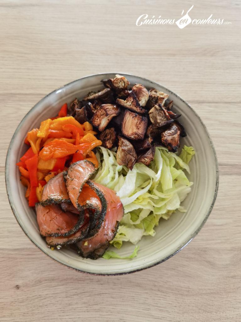 Salade-composee-Salad-bowl-10-768x1024 - Salad Bowl au saumon, aubergines rôties... et plein d'autres choses !