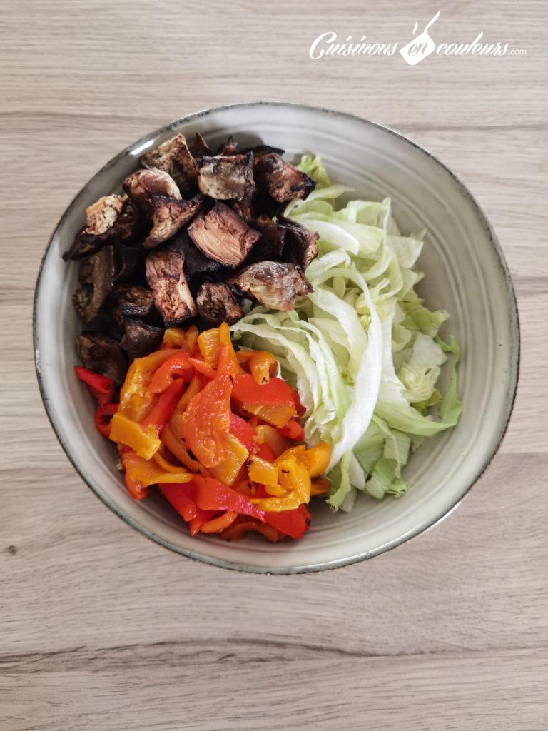 Salade-composee-Salad-bowl-9-768x1024 - Salad Bowl au saumon, aubergines rôties... et plein d'autres choses !