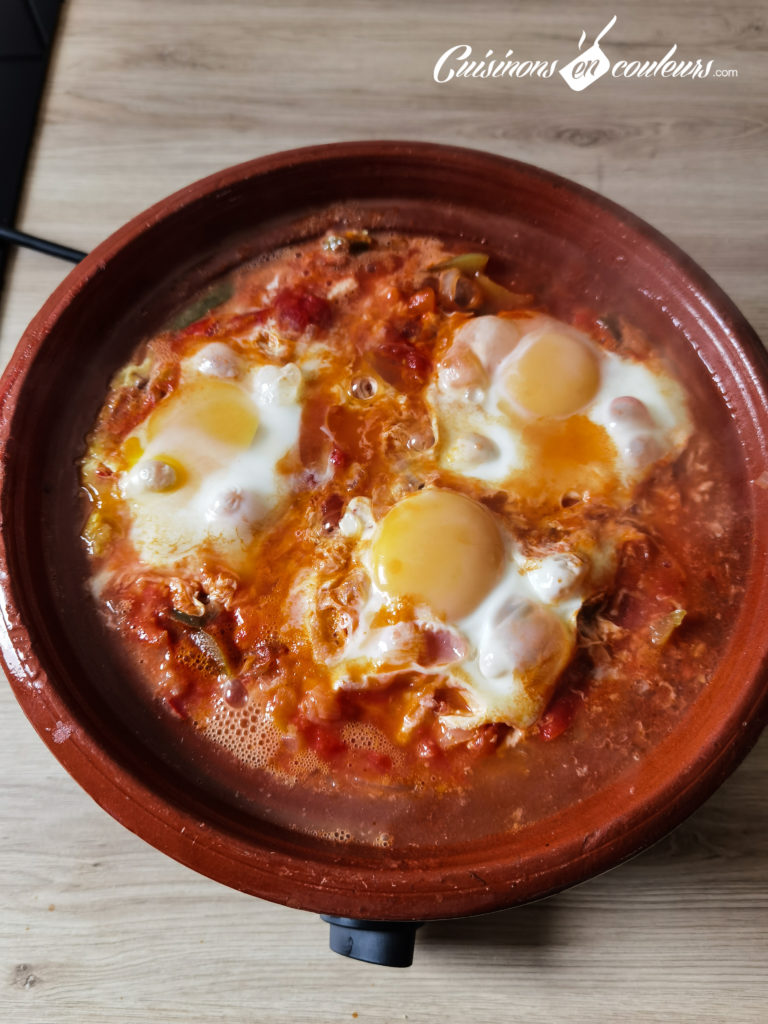 tajine-poivrons-tomates-3-768x1024 - Tajine de poivrons, tomates et oeufs
