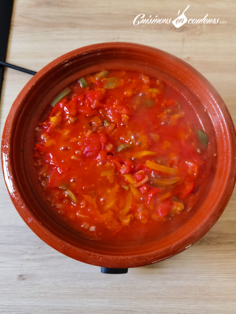 tajine-poivrons-tomates-5-768x1024 - Tajine de poivrons, tomates et oeufs